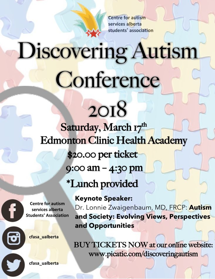 Autism Conference For Parents And >> Discovering Autism Conference 2018 Autism Society Alberta